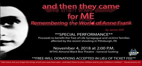 "Encore Performance of ""And Then They Came For Me"" To Support Pittsburgh Victims"