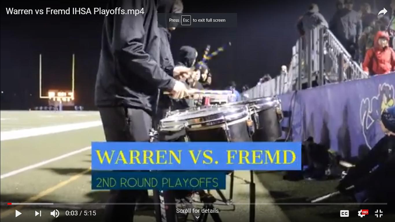 Warren vs. Fremd IHSA Playoffs