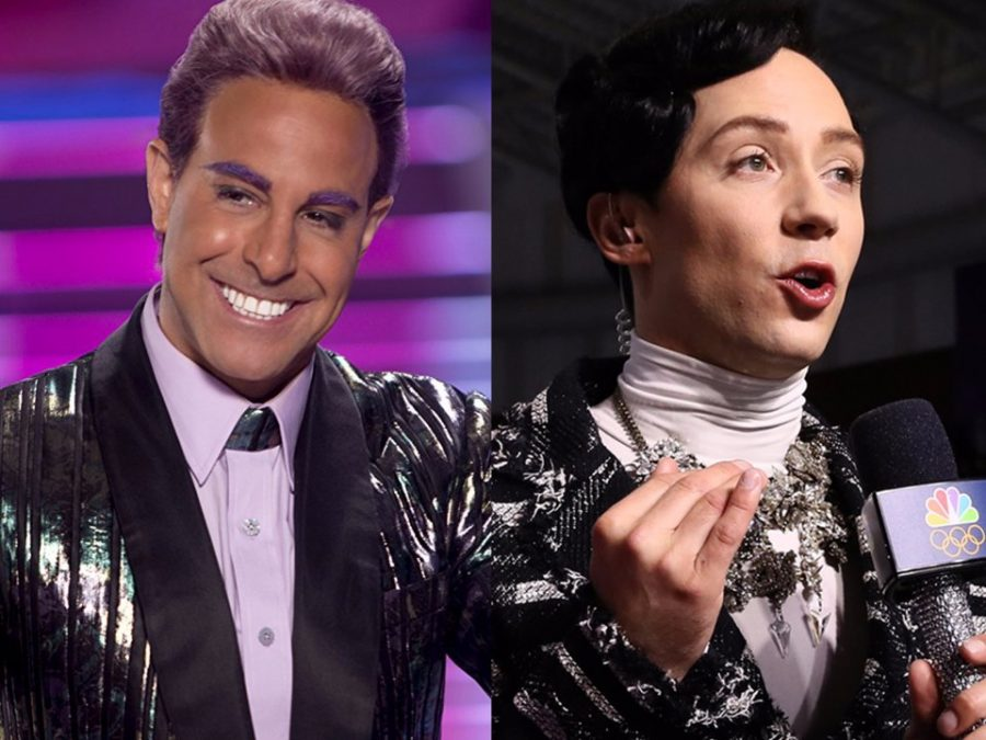 When the Olympic Figure Skater Announcers Look Like They're from the Capitol of Panem
