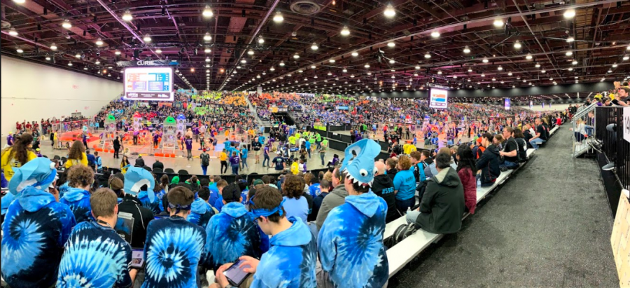 Trident Robotics Takes On Worlds!