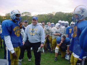 Retiring Gym Teacher and Head Varsity Football Coach, Dave Mohapp