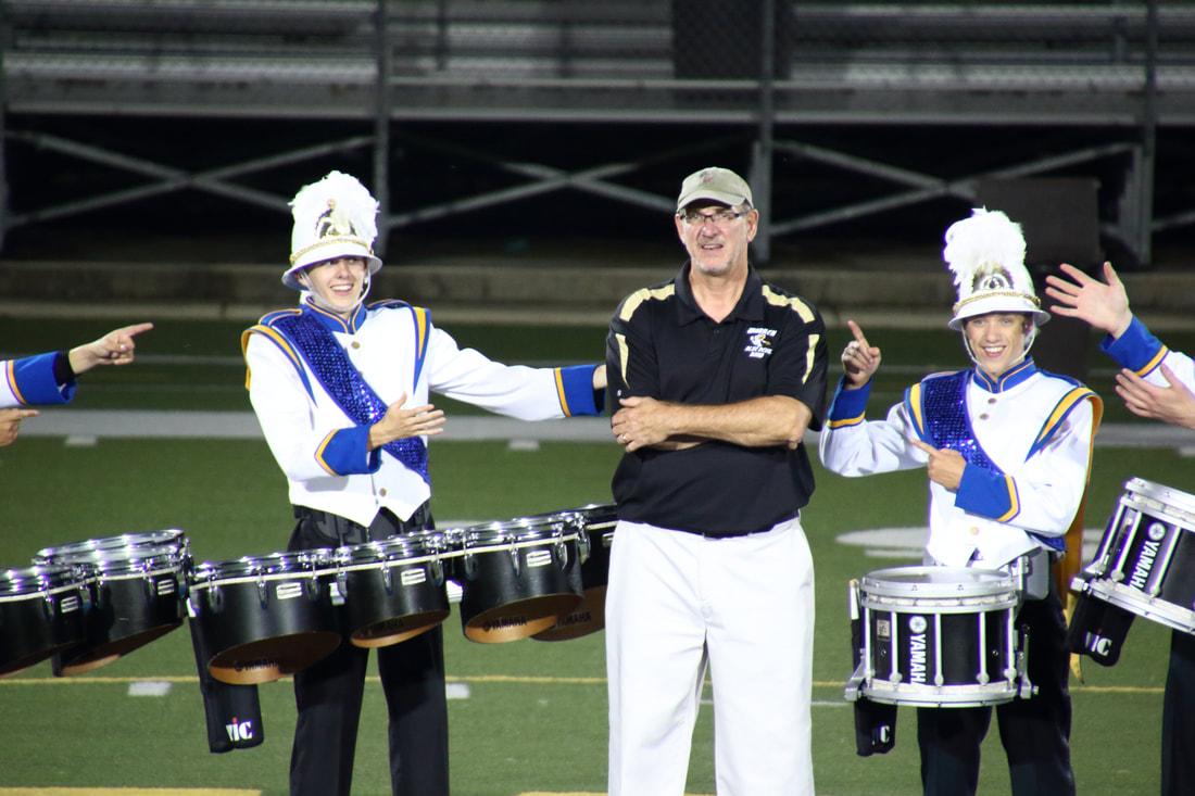 Retiring Band Director- Christopher Jenkins