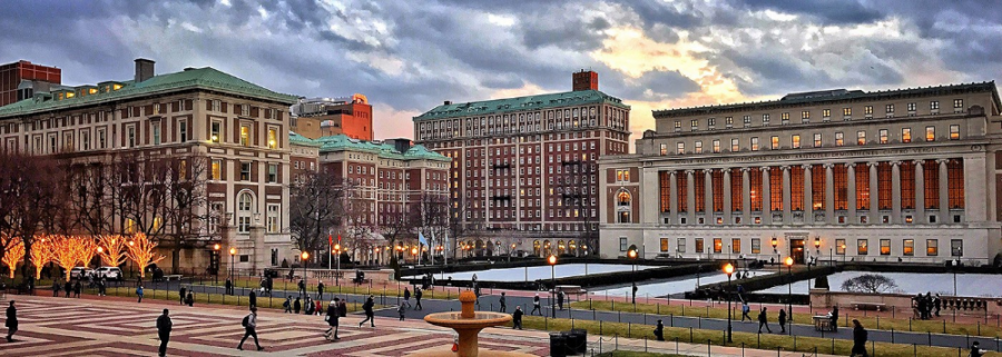 Columbia University on Strike